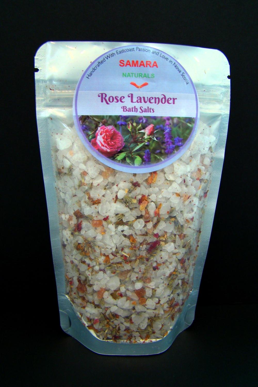 "Rose/Lavender ""Flower All Purpose"" Bath Salts"