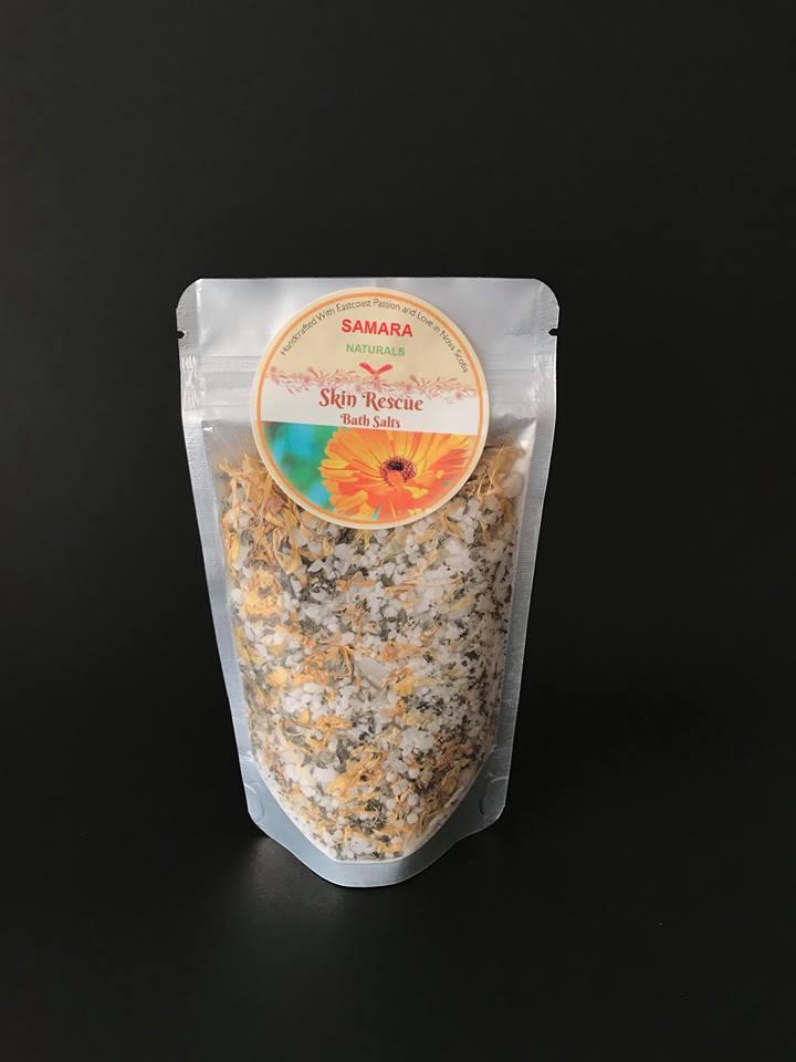Calendula Lemon Balm Skin Rescue Bath Salts