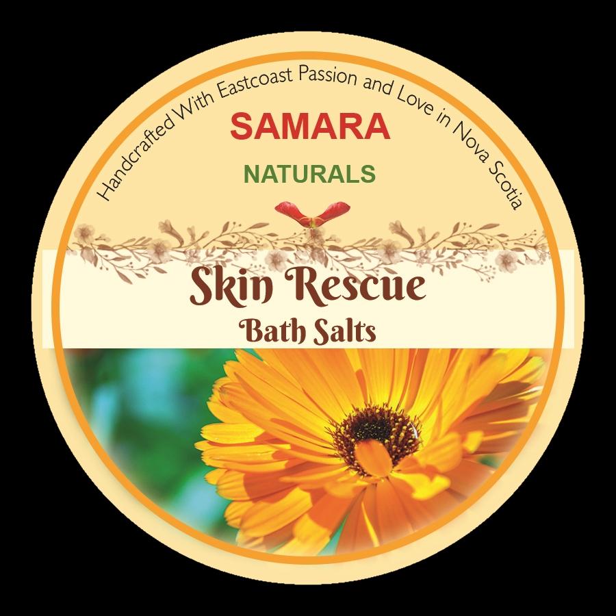 """Skin Rescue-""""Eczema, Rash"""" Reliever Bath Salts"""