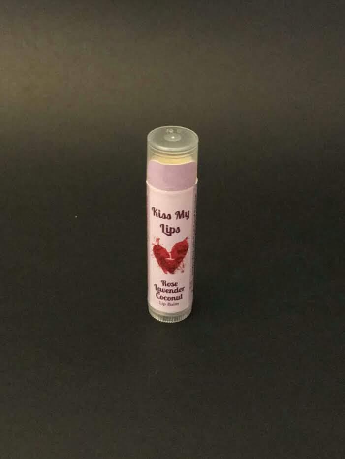 "Organic Rose Lavender Coconut"" Mature-All Purpose"" Lip Balm"