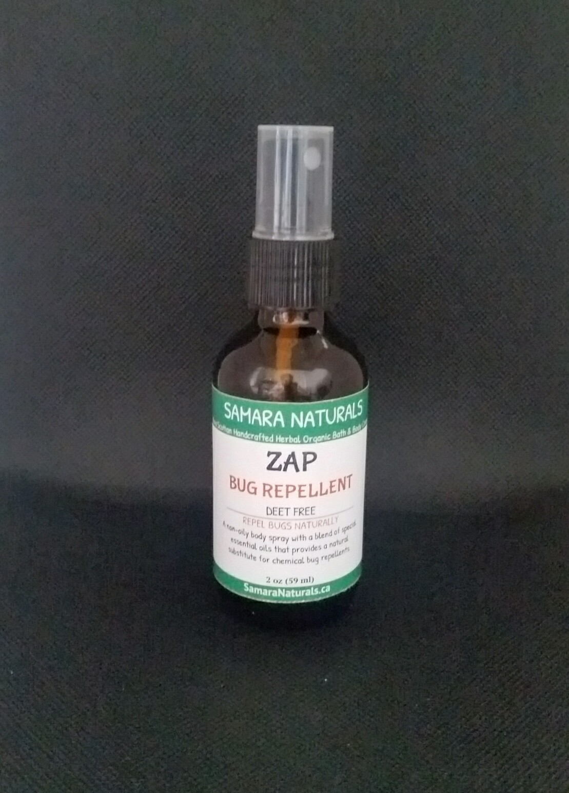 Bug Repellent Spray-Deet Free, Alcohol Free